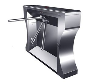 চীন Intelligent Electrical Stainless Tripod Turnstile For Bus Station কারখানা