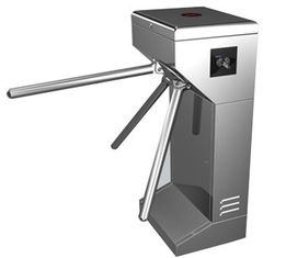 চীন Vertical Stainless Steel Tripod Turnstile Gate For Park or Airport কারখানা