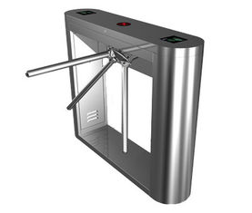 চীন Magnetic Card Stainless Steel Tripod Turnstile Gate for Supermarket কারখানা