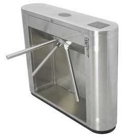 চীন Access Control, Time Attendance Magnetic Card Stainless Steel Tripod Turnstile Gates কারখানা