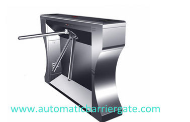 চীন Single / Dual Direction Remote Control Stainless Tripod Turnstile For Supermarket কারখানা