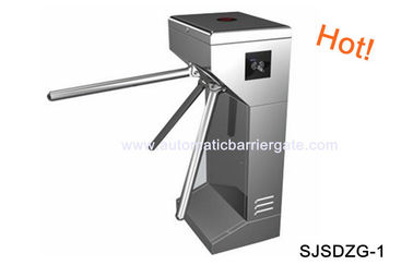 চীন Digital Double Direction Stainless Steel ID Card Tripod Turnstile Gate for Supermarket কারখানা