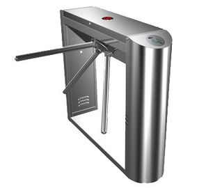 চীন Dual Direction Barcode Stainless Steel Tripod Turnstile Gate for Museum, Library, 0.2s কারখানা