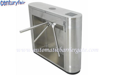 চীন Stainless Steel Tripod Turnstile Gates For Supermarket Time Attendance কারখানা