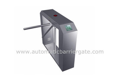 চীন High Class Stainless Steel ID Card Tripod Turnstile Gate with Single Direction কারখানা