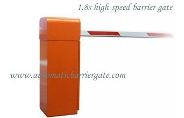 1.8s Customizable Powder Coating High Speed Automatic Traffic Barrier Gate for Airport / Bus Station