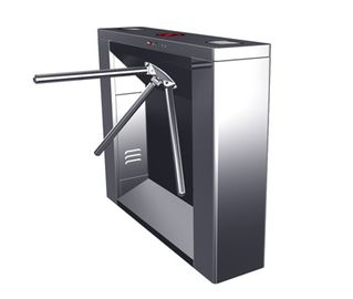 চীন Digital Magnetic Card Stainless Steel Tripod Turnstile Gate, Subway Entrance Barrier কারখানা