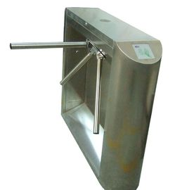 চীন 0.2s Access Control, Time Attendance Stainless Steel Tripod Turnstile Gate for Library কারখানা
