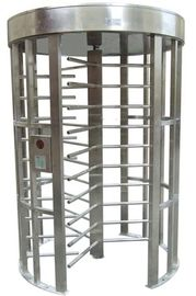 চীন Outdoor Rustproof Full Height Turnstile with Light Alarm for Park RS485 AC220V 50Hz RS485 কারখানা
