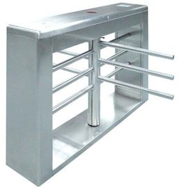 চীন One-way Direction Automatic Rotation Full Height Turnstile with LED Display for Museum কারখানা