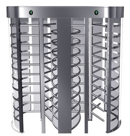 চীন One-way Direction Full Height Turnstile Entrance Gate with Stainless Steel Tube (0.2s) কারখানা