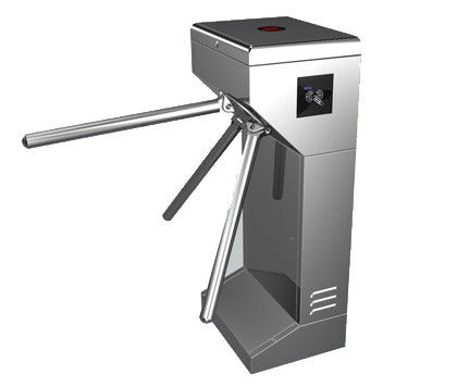 Time Attendance / Tolling 0.2S Stainless Steel ID Card Tripod Turnstile Gate for Musem সরবরাহকারী