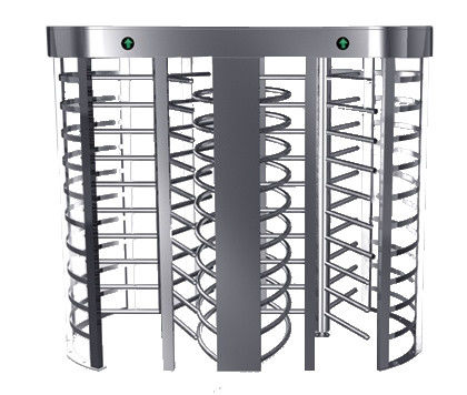 Automatic Electric Full Height Turnstile Entrance Gate With Stainless Steel Tube সরবরাহকারী