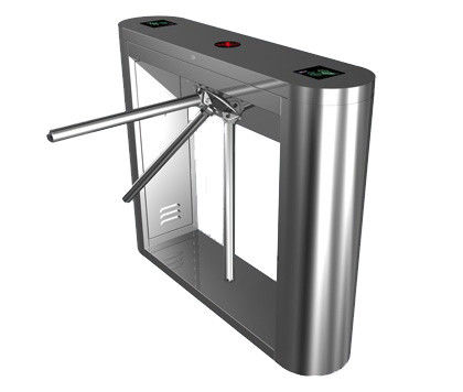 Magnetic Card Stainless Steel Tripod Turnstile Gate for Supermarket সরবরাহকারী