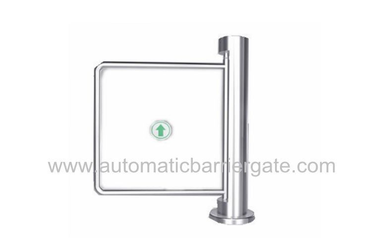 Auto Reset 90 Angle Single Directional Stainless Manual Swing Gate Barrier for Exhibition সরবরাহকারী