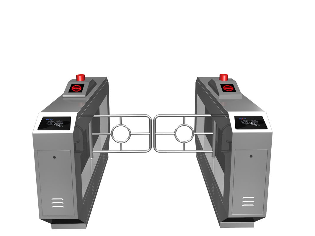 Magnetic Card One-way Direction Self-checking Automatic Swing Gate Barrier RS485 AC220V সরবরাহকারী