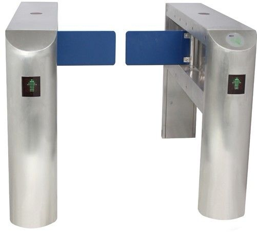 IC Card Two-way Direction DC 24V Brushed Motor Automatic Swing Gate Barrier for Museum সরবরাহকারী