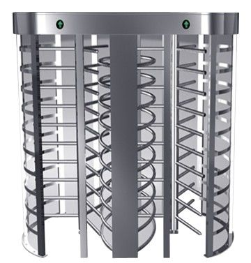 One-way Direction Full Height Turnstile Entrance Gate with Stainless Steel Tube (0.2s) সরবরাহকারী