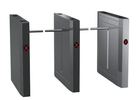 3s Stainless Steel Outdoor Dual Way 180 Angle Barrier Arm Gates with Magnetic Card, Barcod সরবরাহকারী